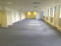 Offices/business rooms in Glasgow opposite Mary Hill Burgh Halls - newly refurbished