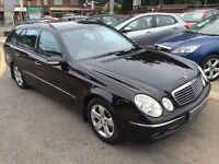 2004/54 MERCEDES E240 AVANTGARDE ESTATE AUTOMATIC,BLACK,STUNNING CONDITION,LOOKS AND DRIVES WELL