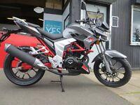Brand New 125cc Lexmoto Venom SE - £1899 OTR. Learner Legal. Finance, MP3 player. Must see bike.