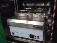 CATERING COMMERCIAL NEW CAFE KEBAB 4 POT BAIN MARIE RESTAURANT FAST FOOD TAKE AWAY SHOP BAR PUB SHOP