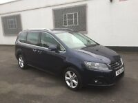 2016 16 SEAT ALHAMBRA SE 2.0 TDI AUTOMATIC 7 SEATER UNRECORDED DAMAGED SALVAGE
