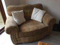 2 Sofas & a Cuddle Chair
