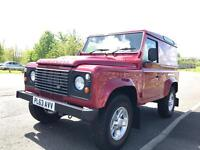 2014 Land Rover defender 90 hard top 2.2 TDCi county pack 29k miles no vat