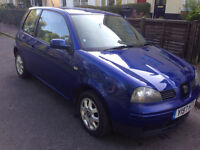 2001 Y SEAT AROSA 1.4 AUTOMATIC IN BLUE 107K