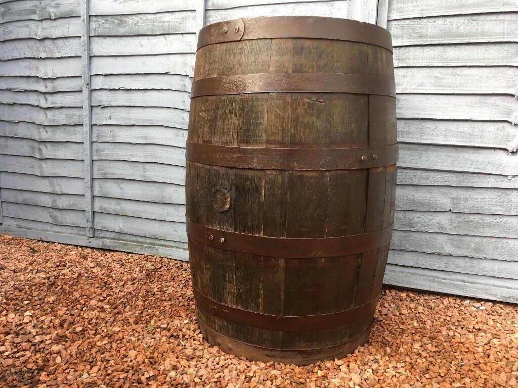 Whisky Barrel Garden Table Planters Bar Table In Ayr