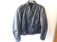 Dainese leather motorcycle jacket. Mens. Size 48