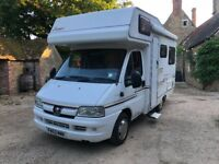 OFF GRID MOTORHOME CAMPERVAN: 2003 4 berth Compass Avantgarde 200