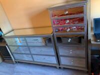 Next Florence tallboy & drawer chest units