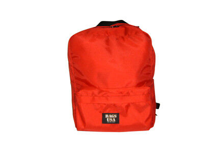 First Aid Backpackemergency Backpacksearch And Rescue Bag Red Made In U.s.a.