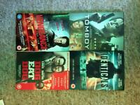 DVDs 4 for £5.