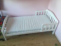 Mothercare Darlington Toddler Bed - White