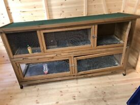 Large 2 Tier Hutch & Accessories