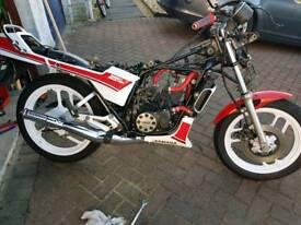 Yamaha rd125lc c reg wiring