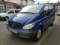 56 Reg Mercedes Vito 109 CDi LWB Twin Side Doors, Reverse Cam, Alloy Wheels, BARGAIN !!