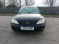 LEFT HAND DRIVE FORD MONDEO PETROL MANUAL 2002 WITH AIR CONDITION STARTS AND DRIVE PERFECTLY