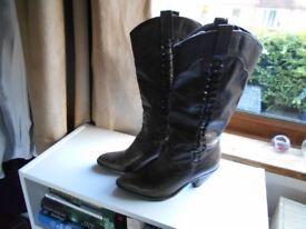 Faith Brown Cowboy boots