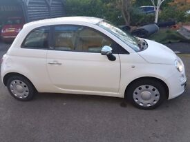 Fiat 500 Pop with full steering controls, 1.2 manual.