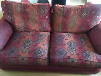 3 seater Sofa + foot stool