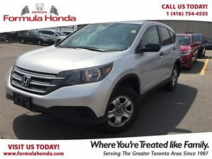 2013 Honda CR-V LX | BLUETOOTH | ACCIDENT FREE - FORMULA HONDA