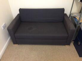 IKEA SOFA BED - ASKEBY (GREY/BLUE COLOUR)