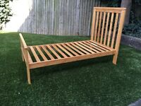 Childs wooden bed - 18mnths and up...