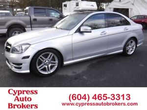 2012 Mercedes-Benz C-Class C300 4MATIC (AMG Sport Package)