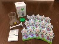 Make your own baby food pouches 💗💙 Fill&Squeeze Baby pouch making set, two packs 100% NEW