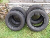 4 x 225/65/17 yokohama geolander tyres