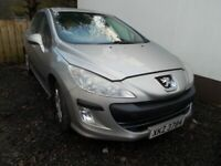 Peugeot, 308, Hatchback, 2009, Manual, 1360 (cc), 5 doors£1195.00