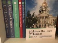 New York Bar Review Course Books - Pieper Bar Review (2018 versions)