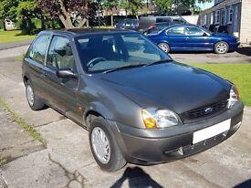 Ford Fiesta X Reg 2000 Mk4 LOW MILEAGE