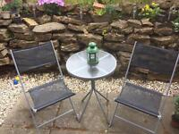 Table & chairs bistro set