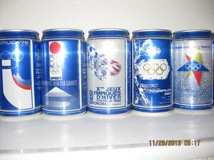 WINTER OLYMPICS 1988 COMPLETE BEER CAN + POSTER COLLECTION Kitchener / Waterloo Kitchener Area image 5
