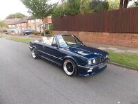 BMW E30 Convertible 325i