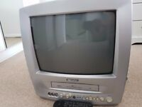 "Daewoo TV 14"" with VCR and remote control"