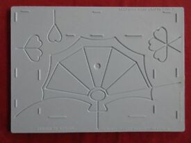 4 x A4 Embossing Boards.