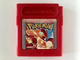 Pokemon Red Gameboy Game - Genuine, Great Condition & Working Save