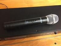 Pro sound and audio technical wireless microphone set