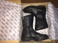 TCX Goretex Motorcycle boots size 8 uk