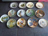41 collectible plates