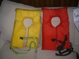Two Buoyancy aids