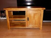 Oak Furniture Land, Original Rustic Small TV Unit