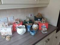 Aynsley,wedgewood, lilliput lane and masons pottery
