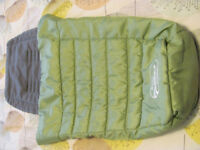 CityMini Baby Jogger Footmuff/footcosy grey/green in good condition