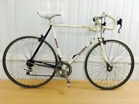 Giant Super lite 10 speed Classic Road Bike Steel frame Fully serviced 60 cm Warranty