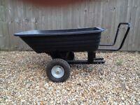 Garden tipping trailer / handcart