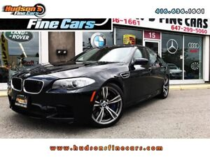 2013 BMW M5 HEASD UP-NAVI-NIGHT VISION - CERTIFIED
