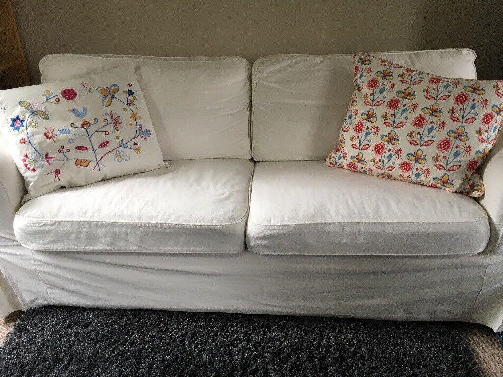IKEA EKTORP DOUBLE SOFA BED   in Martock, Somerset   Gumtree