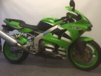 KAWSAKI ZX 636, 2002, LOW MILEAGE,TRADE-IN WELCOME