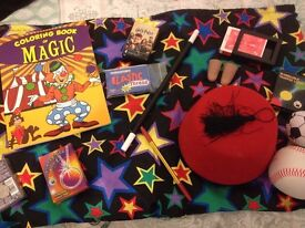 Complete Box of Magic Tricks and Accessories.